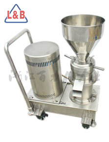 Square mouth colloid mill with cart